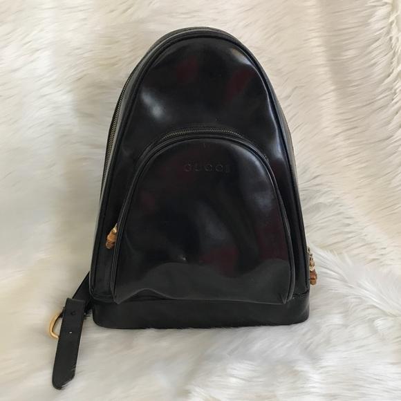26ecd9530b1 Gucci Handbags - GUCCI Bamboo Sling BackPack🎒